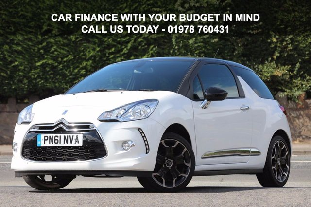 2011 61 CITROEN DS3 1.6 DSTYLE PLUS 3d 120 BHP