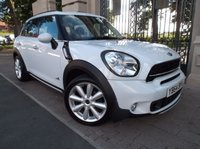 USED 2014 64 MINI COUNTRYMAN 2.0 COOPER SD ALL4 5dr AUTO 141 BHP *** FINANCE & PART EXCHANGE WELCOME *** 1 OWNER FROM NEW HALF LEATHER AIR/CON PARKING SENSORS BLUETOOTH PHONE CRUISE CONTROL DAB RADIO CD AUX & USB SOCKETS