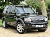 2011 LAND ROVER DISCOVERY VAN DISCOVERY 4 3.0 TDV6 COMMERCIAL £11990.00