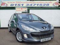 USED 2008 58 PEUGEOT 308 1.6 SE 5d 148 BHP FULL LEATHER, CRUISE CONTROL, PAN ROOF, 47,000 MILES