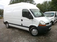 USED 2007 57 RENAULT MASTER 2.5TD MH35 DCI 120BHP 6 SPEED MWB H/R FACELIFT (3500KG)