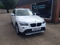 USED 2011 61 BMW X1 2.0 XDRIVE18D SE 5d 141 BHP 4x4 IN WHITE STUNNING CONDITION APPROVED CARS ARE PLEASED TO OFFER THIS  BMW X1 2.0 XDRIVE18D SE 5 DOOR 141 BHP 4x4 IN WHITE IN STUNNING CONDITION THIS CAR IS A 4 WHEEL DRIVE MODEL IN IMMACULATE CONDITION WITH A FULL BMW MAIN DEALER SERVICE HISTORY SERVICED AT 22K,36K,44K,53K,65K,80K AND 88K  A GREAT CAR WIOTH GREAT HISTORY AND ONLY 1 LADY OWNER FROM NEW