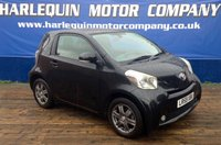 USED 2009 59 TOYOTA IQ 1.0 VVT-I IQ2 3d 68 BHP TOYOTA SUPER MINI THE 2009 TOYOTA IQ2 1.0 MANUAL IN METALLIC BLACK  KEY LESS GO GREY ALLOYS AIR CON POWER STEERING 53000 MILES SERVICE HISTORY ZERO TAX A YEAR LOW INSURANCE IDEAL FIRST CAR