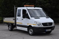 USED 2012 62 MERCEDES-BENZ SPRINTER 2.1 313 CDI D/C MWB 4d 129 BHP 6 SEATER DIESEL AUTOMATIC TIPPER ONE OWNER FULL S/H SPARE KEY