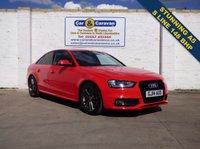 USED 2014 14 AUDI A4 2.0 TDI S LINE START/STOP 4d AUTO 148 BHP S LINE SAT NAV BLUETOOTH