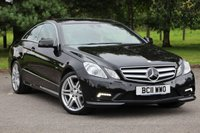 2011 MERCEDES-BENZ E CLASS 3.0 E350 CDI BLUEEFFICIENCY SPORT 2d AUTO 231 BHP £12890.00