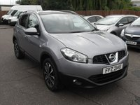 2011 NISSAN QASHQAI 1.6 N-TEC 5d  1 OWNER FROM NEW £8000.00