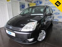 USED 2005 05 FORD FIESTA 1.4 ZETEC CLIMATE 16V 5d AUTO 80 BHP