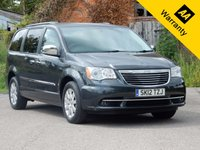 USED 2012 12 CHRYSLER GRAND VOYAGER 2.8 CRD LIMITED 5d AUTO 161 BHP