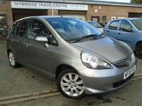 USED 2006 06 HONDA JAZZ 1.3 DSI SE 5d 82 BHP GREAT VALUE+MOT MARCH 2018