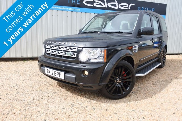 View our LAND ROVER DISCOVERY 4