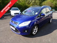 USED 2014 14 FORD GRAND C-MAX 1.6 GRAND  C-MAX TITANIUM X TDCI 5d 114 BHP THIS VEHICLE IS AT SITE 2 - TO VIEW CALL US ON 01903 323333