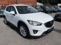 USED 2014 63 MAZDA CX-5 2.0 SPORT 5d 163 BHP FULL LEATHER HEATED MEMORY SEATS