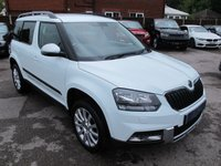 2014 SKODA YETI 1.2 OUTDOOR SE TSI 5d 103 BHP 1 OWNER LOW MILES  £10499.00