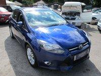 2014 FORD FOCUS 1.6 TITANIUM NAVIGATOR 5d AUTO 124 BHP ESTATE £10799.00