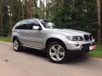 2005 BMW X5 3.0 D SPORT 5d AUTO 215 BHP £5295.00