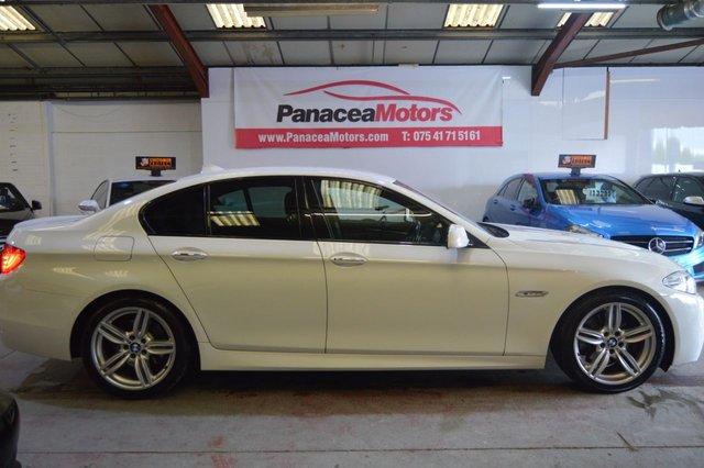 2011 11 BMW 5 SERIES 2.0 520D M SPORT 4d AUTO 181 BHP