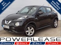 USED 2014 14 NISSAN JUKE 1.5 VISIA DCI 5d 110 BHP FSH, 1 OWNER, SUPERB CONDITION