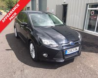 USED 2013 63 FORD FOCUS 1.0 ZETEC 5d 124 BHP ECOBOOST THIS VEHICLE IS AT SITE 2 - TO VIEW CALL US ON 01903 323333