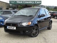USED 2012 11 MITSUBISHI COLT 1.5 CZT BLACK HAWK 3d 148 BHP Great Spec And Performance