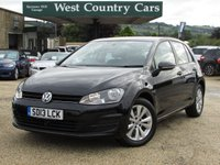 USED 2013 13 VOLKSWAGEN GOLF 1.4 SE TSI BLUEMOTION TECHNOLOGY 5d 120 BHP Great Spec And Condition