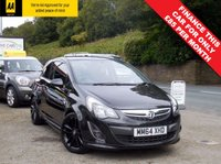 USED 2014 64 VAUXHALL CORSA 1.2 LIMITED EDITION 3d 83 BHP FACTORY FITTED COLOUR TOUCH SCREEN SAT NAV, FULL SERVICE HISTORY, AND BALANCE OF THE MANUFACTURERS WARRANTY UNTIL 12/2017