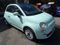 USED 2014 14 FIAT 500 1.2 LOUNGE 3d 69 BHP Low Mileage, One Lady Owner from new, Just Serviced, MOT until August 2018 (no advisories), Great on fuel! Only £30 Road Tax!