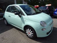 USED 2014 14 FIAT 500 1.2 POP 3d 69 BHP Low Mileage, Fiat Service History + Just Serviced by ourselves, One Owner from new, MOT until July 2018, Great on fuel! Only £30 Road Tax!