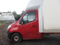 USED 2012 12 VAUXHALL MOVANO 2.3 F3500 L3H1 CDTI LUTON VAN **TRADE SALE** ** 1 OWNER * F/S/H **