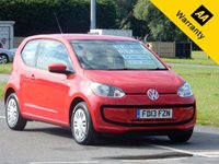 2013 VOLKSWAGEN UP 1.0 MOVE UP 3d 59 BHP £4495.00
