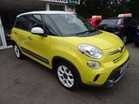 USED 2013 13 FIAT 500L 1.6 MULTIJET TREKKING 5d 105 BHP Full Service History (Fiat + ourselves), MOT until August 2018 (no advisories), Excellent on fuel!