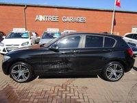 USED 2013 63 BMW 1 SERIES 2.0 116D SE 5d 114 BHP SAT NAV PRIVACY GLASS