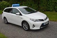 2014 TOYOTA AURIS 1.8 VVT-I EXCEL 5d AUTO 98 BHP £9995.00