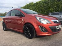 2013 VAUXHALL CORSA 1.2 LIMITED EDITION 3d 1 OWNER FROM NEW £5250.00