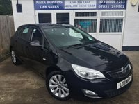 USED 2011 11 VAUXHALL ASTRA 1.6 EXCLUSIV 5d 113 BHP 14K FSH  ONE LADY OWNER  EXCELLENT CONDITION