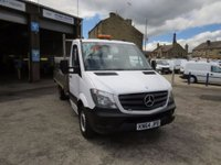 2014 MERCEDES-BENZ SPRINTER 313CDi 14' DROPSIDE WITH TAIL LIFT £12495.00