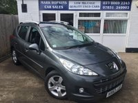 USED 2013 63 PEUGEOT 207 1.6 HDI SW ALLURE 5d 92 BHP 57K FSH  ONE LOCAL FAMILY OWNER  HIGH SPEC MODEL  EXCELLENT CONDITION