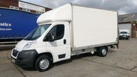 USED 2013 62 CITROEN RELAY 2.2 35 L3 HDI 1d 129 BHP 1 OWNER TAIL LIFT LUTON /////