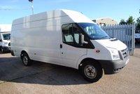 2014 FORD TRANSIT JUMBO, T350, 124 BHP, EURO 5 £8750.00