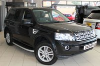USED 2013 13 LAND ROVER FREELANDER 2.2 TD4 XS 5d 150 BHP FULL BLACK LEATHER SEATS + SAT NAV + HEATED SEATS + BLUETOOTH + CRUISE CONTROL + 17 INCH ALLOYS