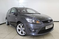 USED 2009 59 FORD FOCUS 2.5 ST-3 3DR 223 BHP FULL SERVICE HISTORY + AIR CONDITIONING + CRUISE COMTROL + DAB RADIO  + 18 INCH ALLOY WHEELS