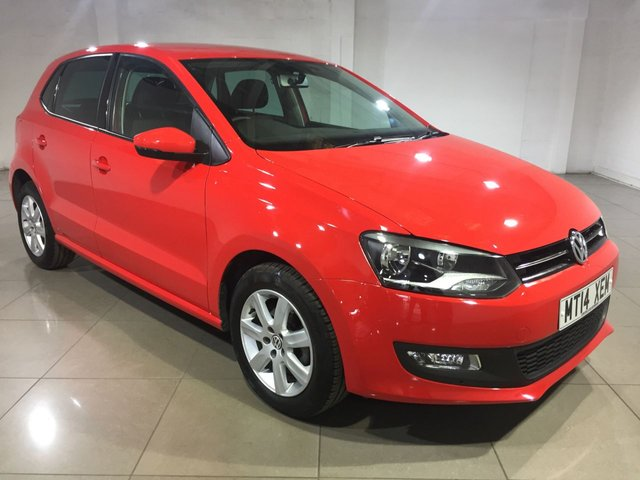 View our 2014 14 VOLKSWAGEN POLO 1.2 MATCH EDITION 5d 69 BHP