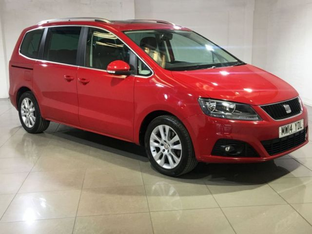 View our 2014 14 SEAT ALHAMBRA 2.0 CR TDI SE LUX DSG 5d AUTO 140 BHP
