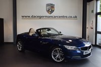 USED 2015 64 BMW Z4 2.0 Z4 SDRIVE20I ROADSTER 2DR AUTO 181 BHP + FULL CREAM LEATHER INTERIOR + FULL BMW SERVICE HISTORY + 1 OWNER FROM NEW + PRO SATELLITE NAVIGATION + BLUETOOTH + HEATED SPORT SEATS + DAB RADIO + RAIN SENSORS + 18 INCH ALLOY WHEELS +