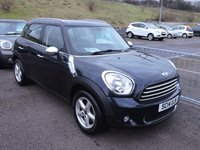 USED 2014 14 MINI COUNTRYMAN 1.6 ONE 5d 98 BHP with Pepper Pack