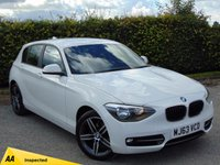 USED 2013 63 BMW 1 SERIES 2.0 116D SPORT 5d * 128 POINT AA INSPECTED *