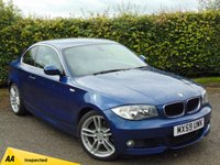 USED 2009 59 BMW 1 SERIES 2.0 123D M SPORT 2d AUTO  128 POINT AA INSPECTED & 12 MONTHS FREE AA MEMBERSHIP