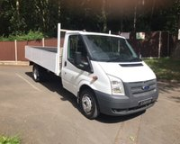 2013 FORD TRANSIT 2.2 T350/125 DRW Dropside £12995.00