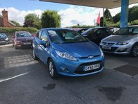 USED 2010 60 FORD FIESTA 1.4 ZETEC 16V 5d 96 BHP NEED FINANCE? WE STRIVE FOR 94% ACCEPTANCE
