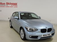 USED 2014 14 BMW 1 SERIES 2.0 120D SE 3d 181 BHP